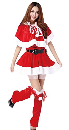 GAGA womens Plus Size Santa Claus Sweetie Costume 15 OS]()