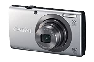 Canon PowerShot A2300 16.0 MP Digital Camera with 5x Optical Zoom (Silver)