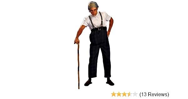 Uncle Bert Old Man CHILD Boys Costume NEW