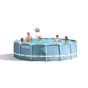 Intex Prism marco por encima del suelo piscina 15pies x 48