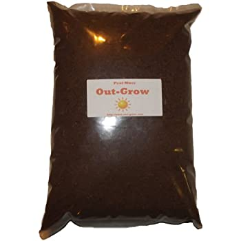 8 Quarts of Natural Peat Moss - No Additives 100% Pure
