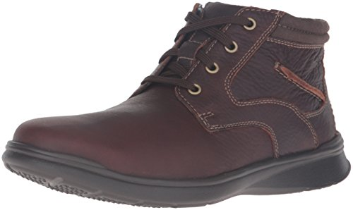 Clarks Men's Cotrell Rise Chukka Boot, Brown Oily, 9 M US (Clarks Shoe Man)