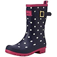 Joules Women's Molly Welly Rain Boot 8