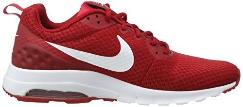 Nike Air White Motion Max Gym Gym Herren White Lw Red Red Sneaker Rot rRq5nrW7