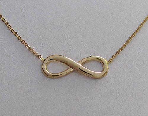 Infinity Infini Chaîne Or Lot de 14