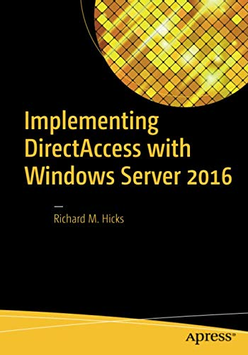 (Implementing DirectAccess with Windows Server 2016)