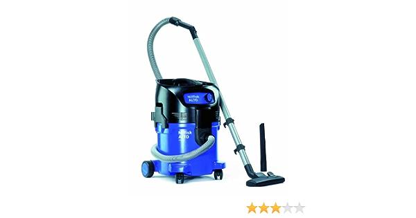 Nilfisk 302003405 - Aspirador de agua y polvo, 1500 W, depósito 30 l, caudal de aire 3700 l/min, color negro y azul: Amazon.es: Industria, empresas y ciencia