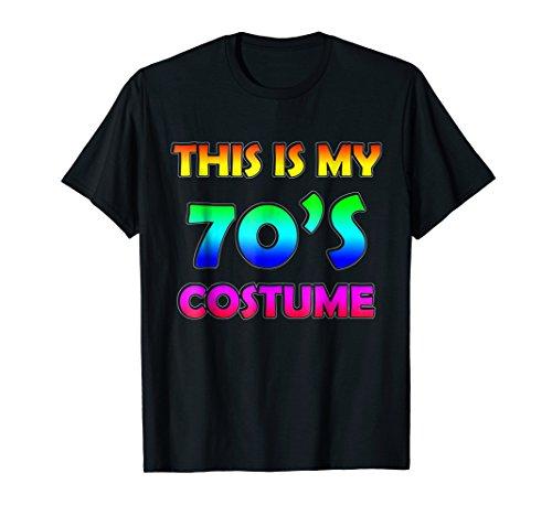 70s Costume Halloween Shirt for 1970s Party men women top