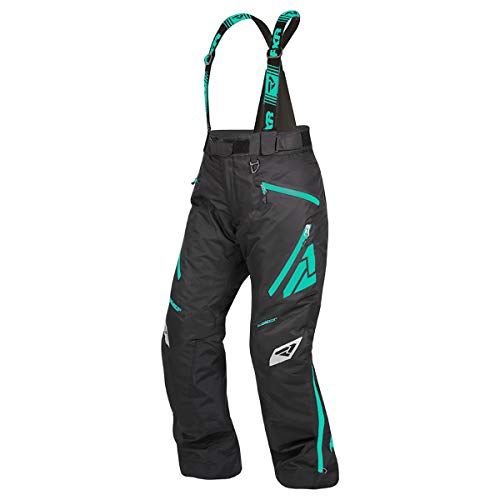 - FXR Womens Vertical Pro Insulated Pant (Black/Mint, Size 2)