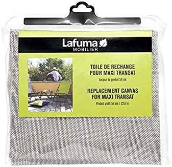 Lafuma Toile Batyline pour chaise longue Maxi Transat, Largeur: 58 cm, Couleur: Seigle, LFM2655 1685