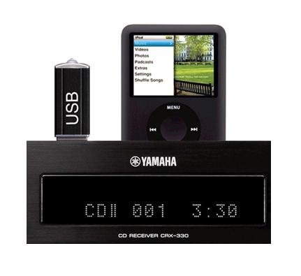Yamaha Micro Home Theater Receiver Sound System with Integrated iPod Docking Station by YAMAHA