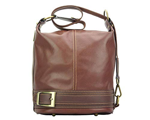 Caterina 300 Sacs Leather À Épaule Florence En Dos Marron Cuir Transformable Market Sac Porté PvwPdXAq