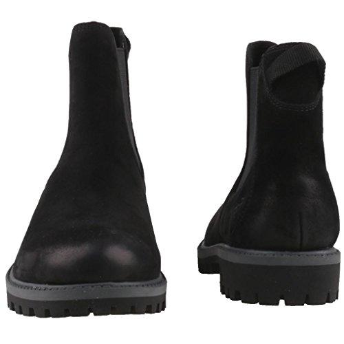 Chelsea Mujer Tamaris Black 25401 Schwarz para Uni Botas IwqfqE