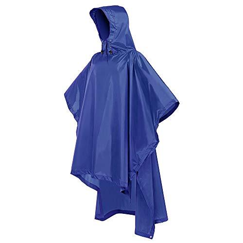 Terra Hiker Rain Poncho, Waterproof Raincoat with Hoods for Outdoor Activities ()