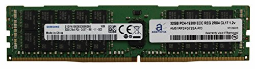 Samsung Original 32GB (1x32GB) Server Memory Upgrade Compatible for Dell Poweredge & HP Proliant Servers DDR4 2400MHZ PC4-19200 ECC Registered Chip 2Rx4 CL17 1.2v RAM (Poweredge 2400 Server)