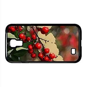 Loaded Berries Watercolor style Cover Samsung Galaxy S4 I9500 Case (Winter Watercolor style Cover Samsung Galaxy S4 I9500 Case)
