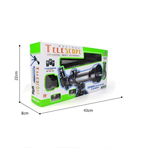 Acecor Children's Science Telescope, Students Astronomy Inspiration Exploring Science Astronomical Telescope Toy 20x/30x/40x Magnifying Glass by Acecor (Image #4)