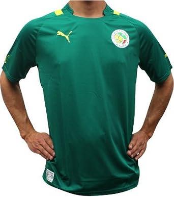 Puma-Camiseta de fútbol réplica de senegal, color Verde - verde, tamaño S: Amazon.es: Ropa y accesorios