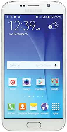 Samsung Galaxy S6 SM-G920V 32GB White Smartphone for Verizon (Certified Refurbished)