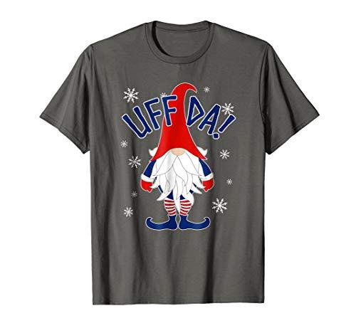 Norwegian Gnome T-shirt Scandinavian Tomte Nordic Christmas