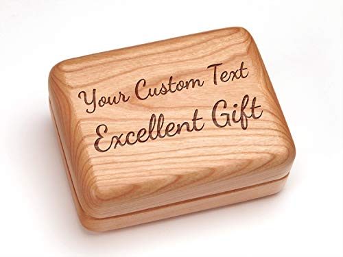 Heartwood Creations Hinged Box 4x3 - Your Custom ()