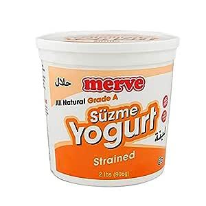 Merve Suzme Yogurt / Strained Yogurt - 2 lbs