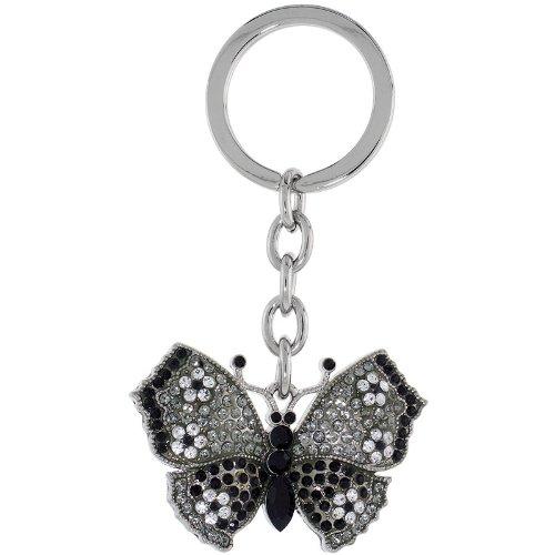 Amazon.com: Gran Mariposa Cadena de clave, llavero, llavero ...