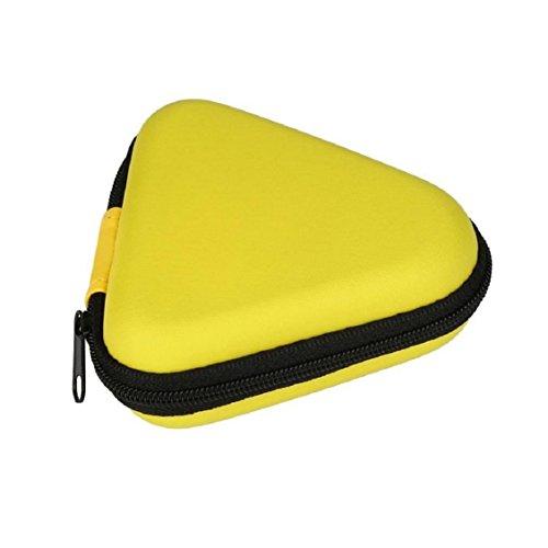 For Fidget Hand Spinner, Ouneed ® Para inquieto mano Spinner triángulo dedo juguete Focus ADHD Bolsa regalo (Azul) Amarillo