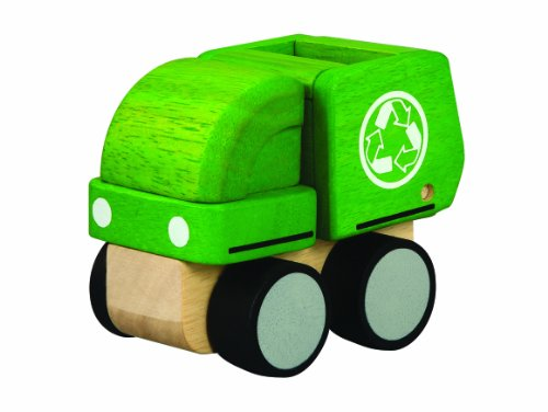 [해외]PLANTOYS 6319 미니 쓰레기 트럭 / Plantoys 6319 Mini Garbage truck