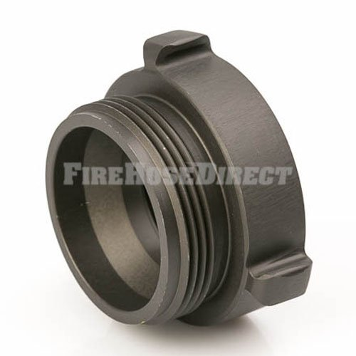 Aluminum 2'' Female NPT to 2 1/2'' Male NH Fire Hose Adapter