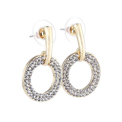 DIY Earing Set Jewelry Women Hoop Zircon Earrings Dangle Earrings Wedding Party Gift Ear Stud - Earrings Zircon