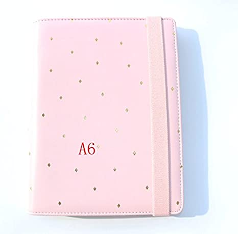 Amazon.com : Creative dots bandage leather spiral notebooks ...