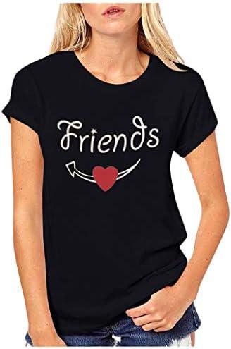 Día De San Valentín Camiseta Mujer Manga Corta Camiseta ...