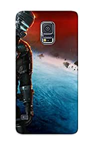 Fashion Protective Dead Space 3 Mass Effect N7 Armor Case Cover For Galaxy S5