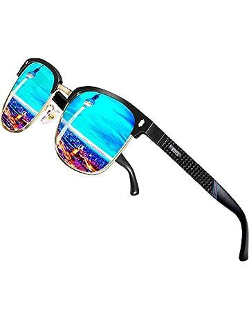 cbc82e13031 ATTCL Men s Driving Polarized Rimless Sunglasses Al-Mg Ultra Light