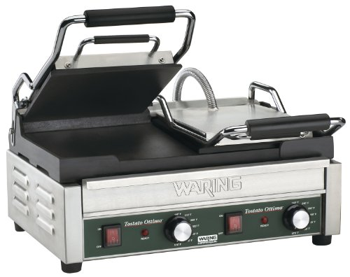 Waring Commercial WFG300 Panini Tostato Ottimo Dual Italian-Style Panini Grills, ()