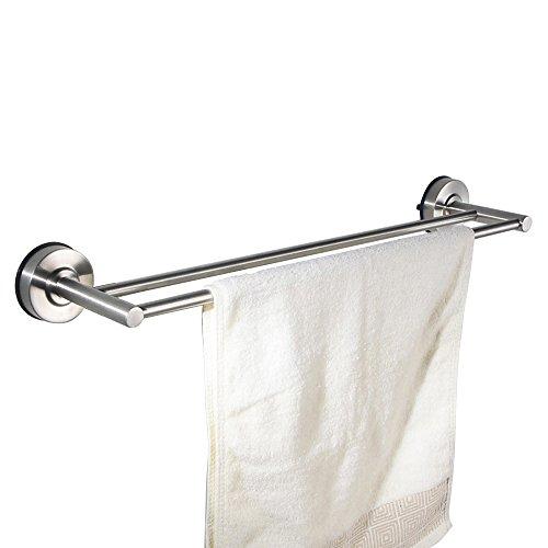 best North Shore 32 in. Towel Bar Holder Bath Hardware Accessory, Satin Nickel