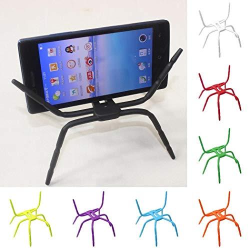 (lantusi Spider Shape Mobile Phone Desk Table Stand Holder for Mobile Phones Stands)