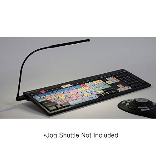 LogicKeyboard designed for Adobe Premiere Pro CC compatible with Windows 7-10 - Part: LKBU-PPROCC-BJPU-US