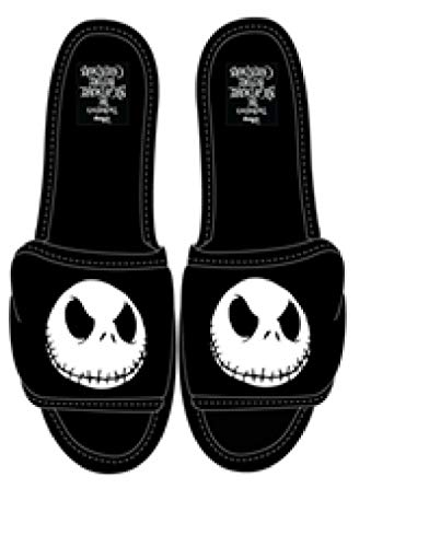 Disney Nightmare Before Christmas Jack Skellington Adult Slipper,