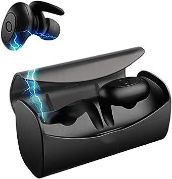 Raitron [Borofone TWS02 - Auriculares inalámbricos con doble Bluetooth con caja de carga