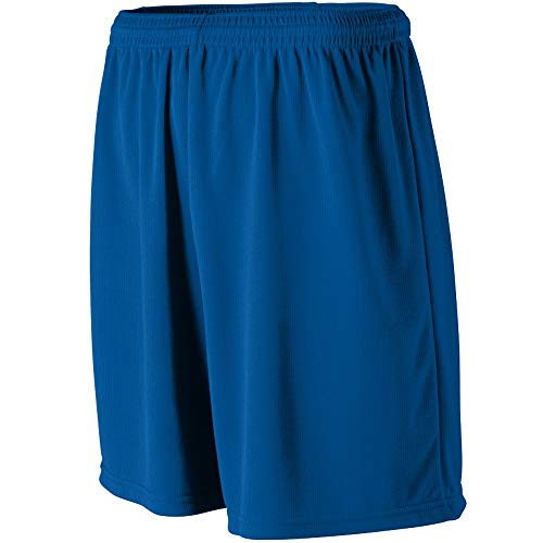 Augusta Sportswear MEN'S WICKING MESH ATHLETIC SHORT M Royal ()