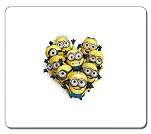 Customized Fashion Style Textured Surface Water Resistent Mousepad Despicable Me 18 High Quality Non-Slip Gaming Mouse Pads