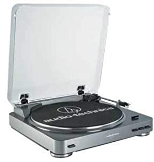 Audio-Technica AT-LP60 Fully Automatic Belt-Drive Stereo Turntable, Silver (B002GYTPAE) | Amazon Products