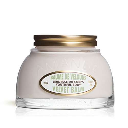 L'Occitane Youthful Body Almond Velvet Balm Enriched with Shea Butter, 7 oz.