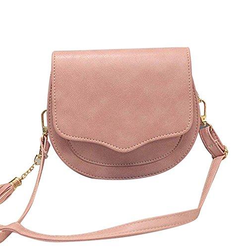 espeedy mode femmes mini messenger bag Cute Simple embragues PU Leather Crossbody Sac À Bandoulière Avec Petite/ rose