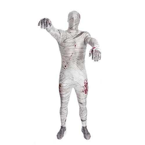 Mummy Morphsuit Fancy Dress Costume - size Large - 5'3-5'9 (159cm-175cm)