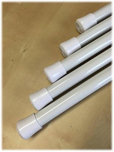 colore bianco Asta Premium per doccia allungabile con molla 110/ /200/cm