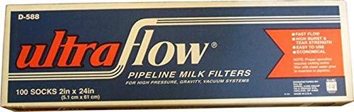 KEN AG D588 030940 Ultraflo Filtering Sock Tan, 2 x 24 by KEN AG
