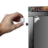 Safety Baby Magnetic Cabinet Locks - No Tools Or Screws Needed (4 Locks + 1 K...
